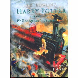 Harry Potter and the Philosophers Stone (Illustrated Edition Book) 1