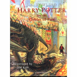 (Harry Potter and the Goblet of Fire (Illustrated Edition Book 4