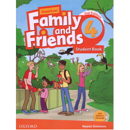 (American Family and Friends 4 (2nd)  (SB+WB+CD+DVD
