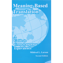 Meaning-based Translation 2nd Edition