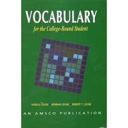 Vocabulary For the College-Bound Student 4th Edition
