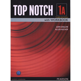 Top notch 1A: English for today's world with workbook