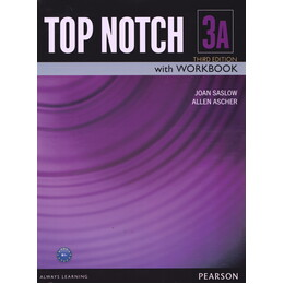 Top notch 3A: English for today's world with workbook